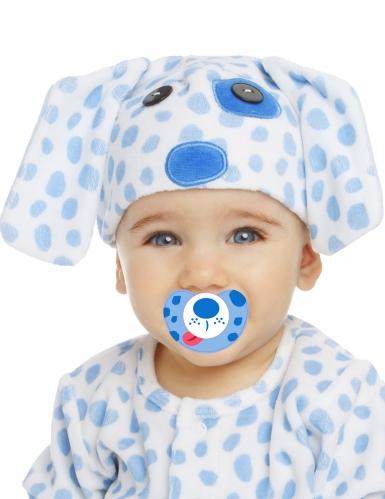 Luxe kleine hond kostuum met speen voor baby's-1