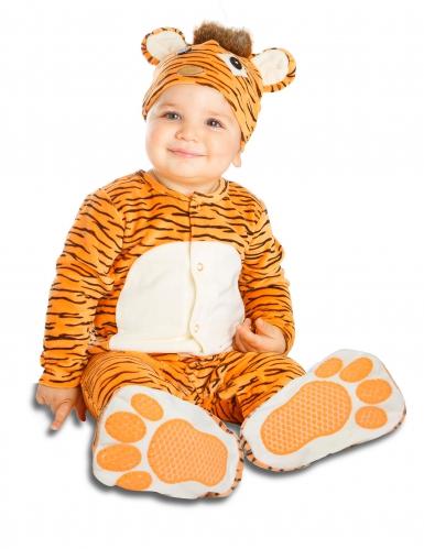 Luxe kleine tijger kostuum met speen voor baby's