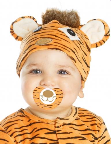Luxe kleine tijger kostuum met speen voor baby's-1