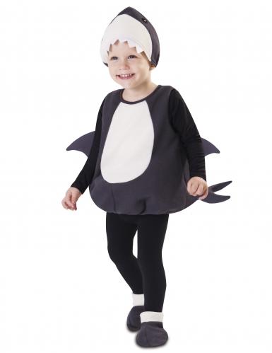 Kleine haai kostuum voor baby's