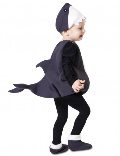 Kleine haai kostuum voor baby's-1