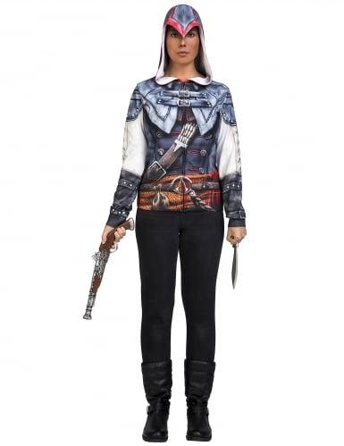 Assassin's Creed™ Aveline kostuum voor volwassenen