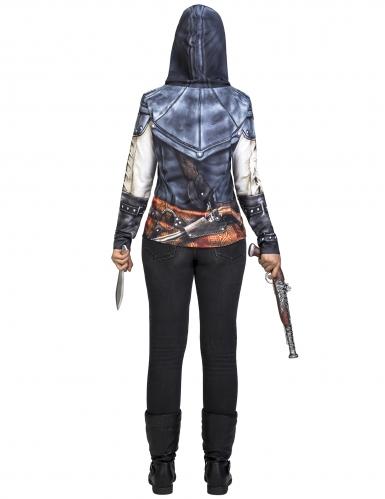 Assassin's Creed™ Aveline kostuum voor volwassenen-2