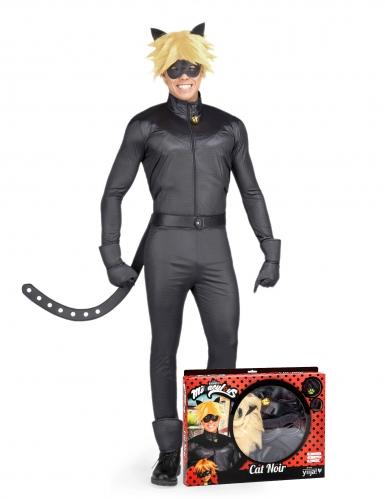 Miraculous™ zwarte kat kostuum voor volwassenen