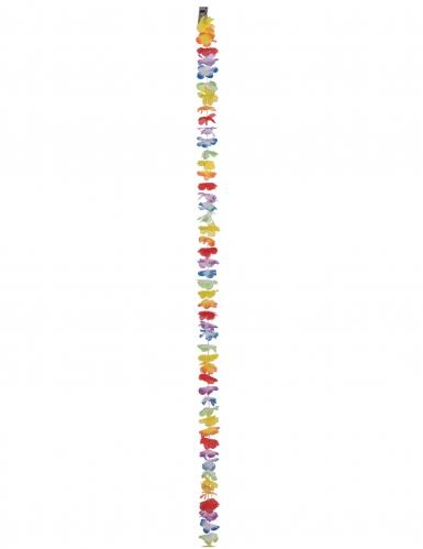Kleurige Hawai slinger 3 meter