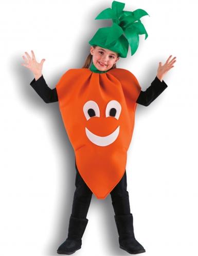 Wortel kostuum voor kinderen