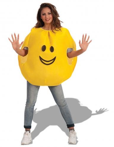 Vrolijke emoticon kostuum voor volwassenen