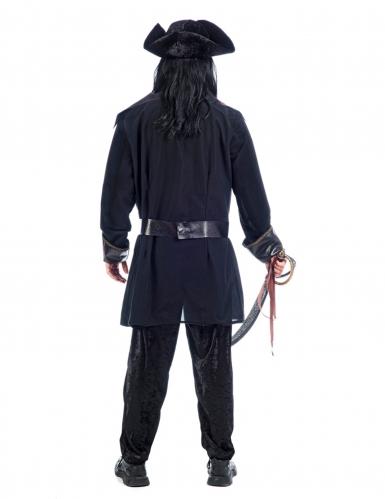 Zwart piraten kostuum voor mannen-1