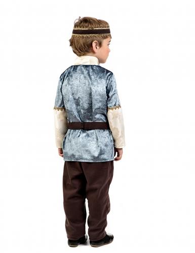 Middeleeuwse prins kostuum voor jongens-1