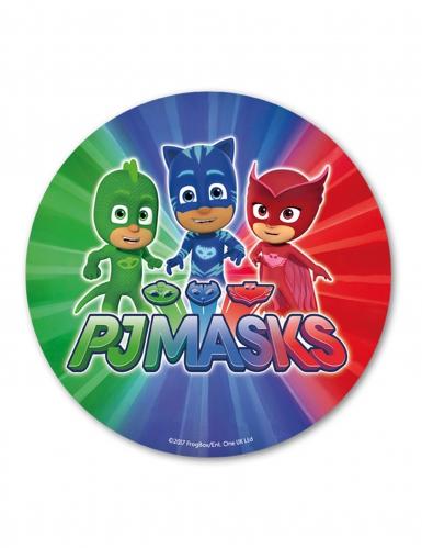 Eetbare taart schijf PJ Masks™