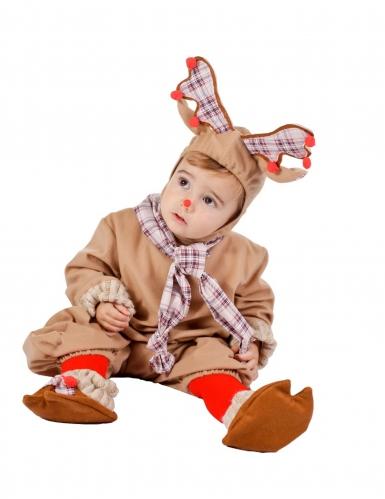 Rendier kostuum voor baby's