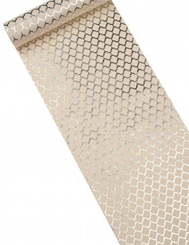 Bijen korf patroon tafelloper