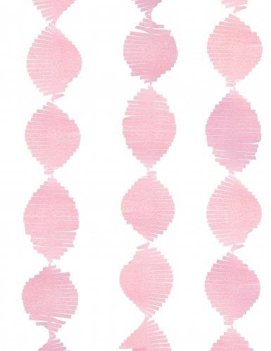 Licht roze slinger