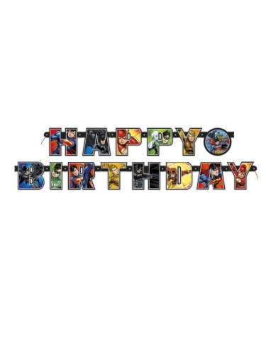 Happy Birthday Justice League™ slinger