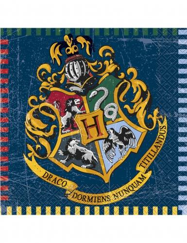 16 papieren Harry Potter™ servetten
