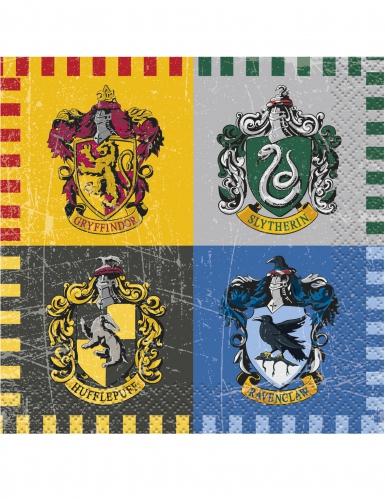 16 kleine Harry Potter servetten
