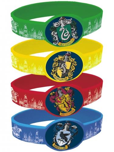 4 elastische Harry Potter™ armbanden