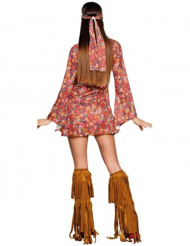 Hippie peace kostuum voor vrouwen-1