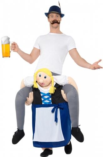 Carry me Oktoberfest kostuum voor volwassenen