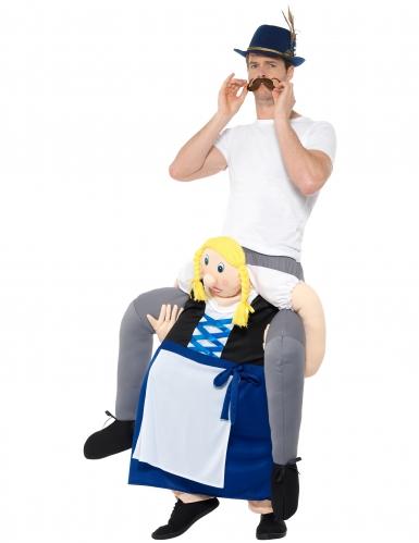 Carry me Oktoberfest kostuum voor volwassenen-1