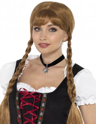 Zwarte Beierse halsband voor vrouwen