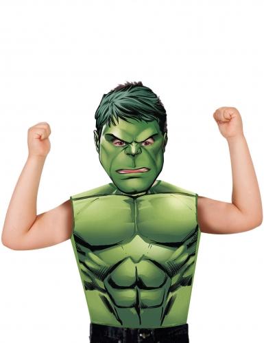 Hulk t-shirt en masker voor kinderen