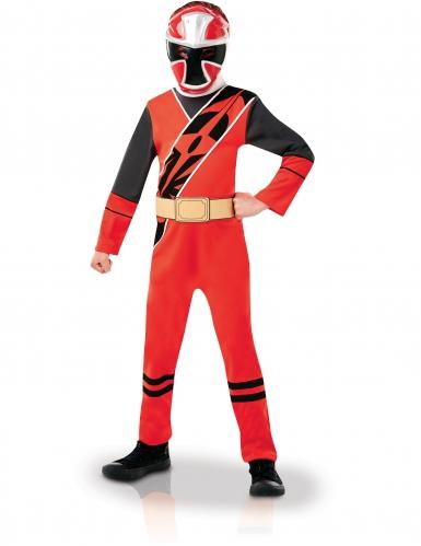 Rood Ninja Steel Power Rangers™ kostuum voor kinderen