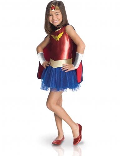 Klassiek Wonder Woman™ kostuum voor kinderen