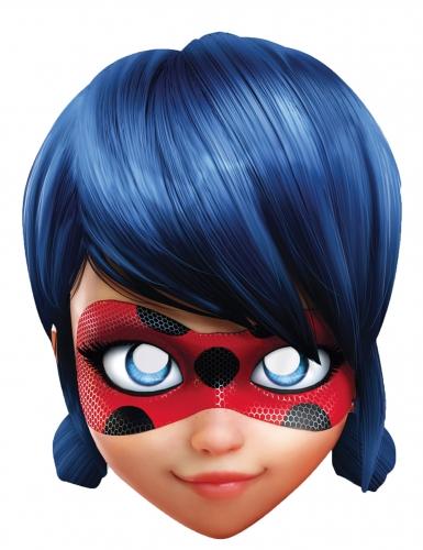 Kartonnen Lady Bug™ Miraculous masker voor kinderen