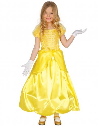 Gele prinsessen kostuum voor meisjes