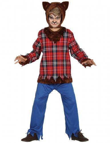 Campus weerwolf kostuum voor jongens