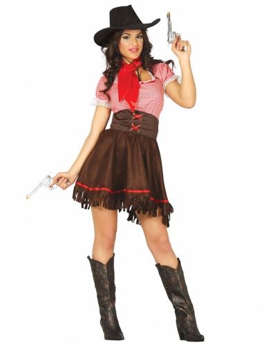 Western cowgirl kostuum voor vrouwen