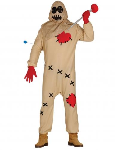 Eng voodoo pop kostuum voor volwassenen