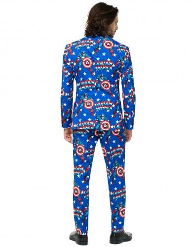 Mr. Captain America™ Opposuits™ kostuum voor mannen-1