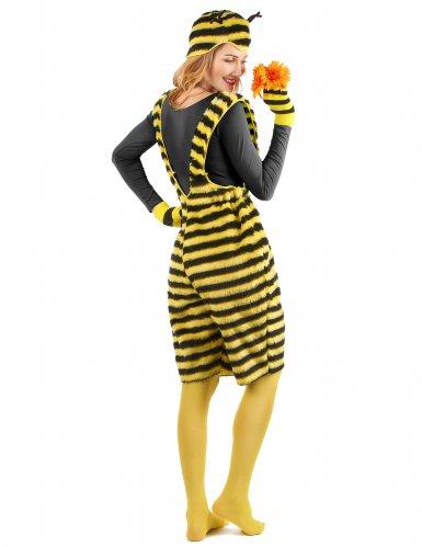 Pluche bijen overall voor volwassenen-2