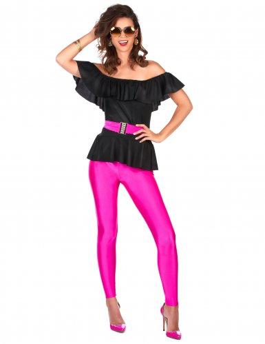 Retro jaren 80 kostuum voor vrouwen