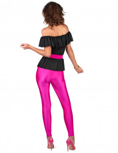 Retro jaren 80 kostuum voor vrouwen-2