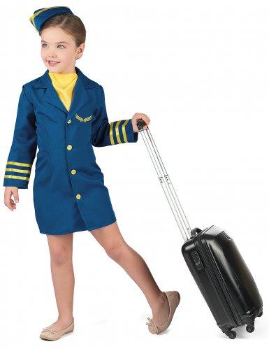 Stewardess kostuum voor meisjes-1