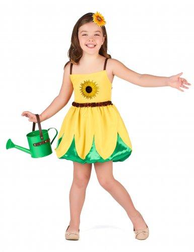 Zonnebloem kostuum voor meisjes
