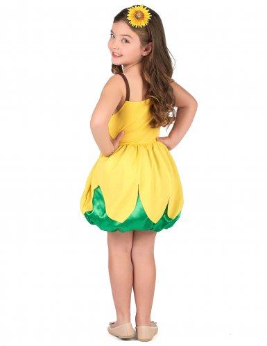 Zonnebloem kostuum voor meisjes-2