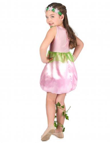 Groen-roze fee kostuum voor meisjes-2