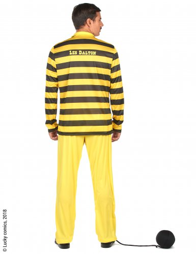 Lucky Luke™ Dalton kostuum voor mannen-2