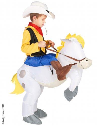 Lucky Luke™ op Jolly Jumper kostuum voor kinderen-1