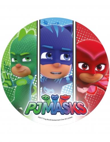 Willekeurige PJ Masks™ suikerschijf-1