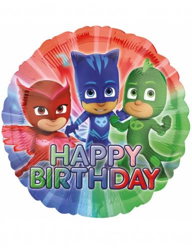 PJ Masks™ Happy Birthday ballon 43 cm
