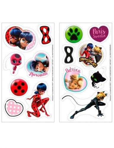 16 mini suikerdecoraties Ladybug™ 3.4 cm