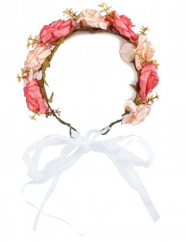 Rozen bloemenkrans voor volwassenen-1