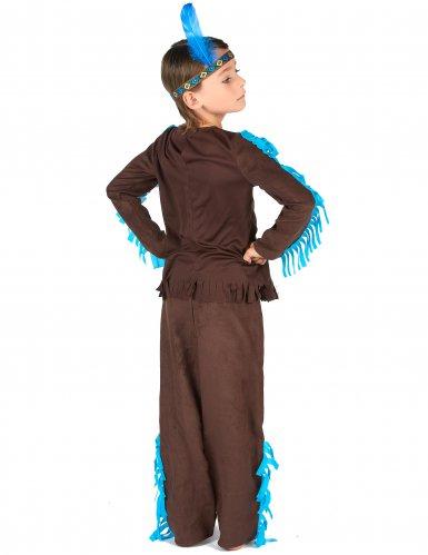 Bruin indianen kostuum voor jongens-2