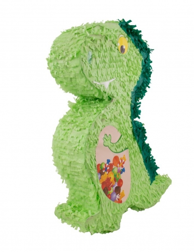 Kleine groene dinosaurus pinata