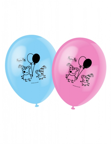 6 Peppa Pig™ ballonnen